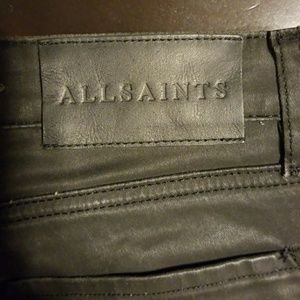All Saints Lacquered Jeans